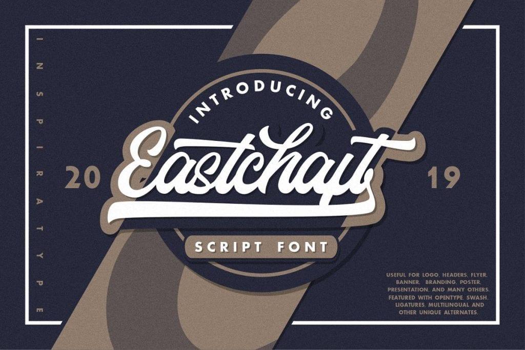 Eastchaft Script Font 1