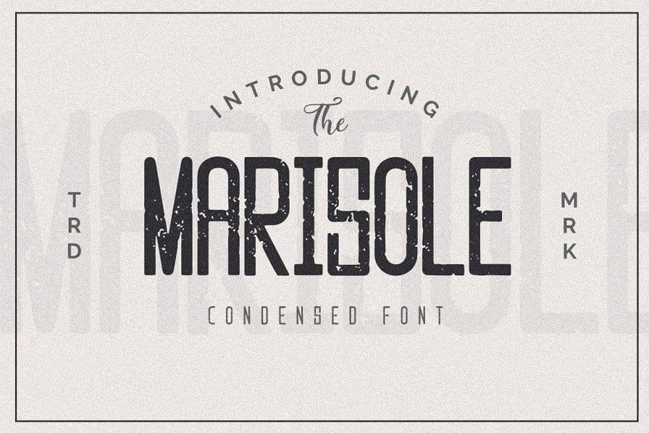 Marisole Condensed Font 1