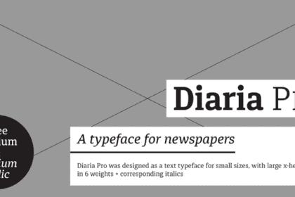 Diaria Pro Font