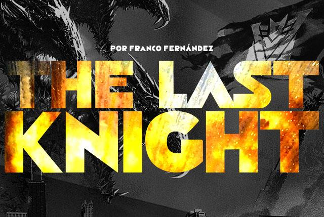 the last knight font created in by fz