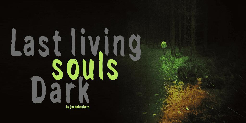 Last living souls Font