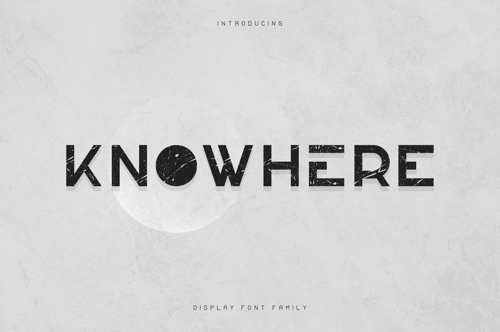 Knowhere Font