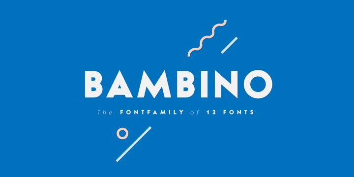Bambino Font Family