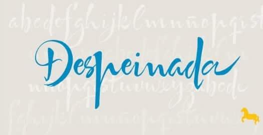 Despeinada Font