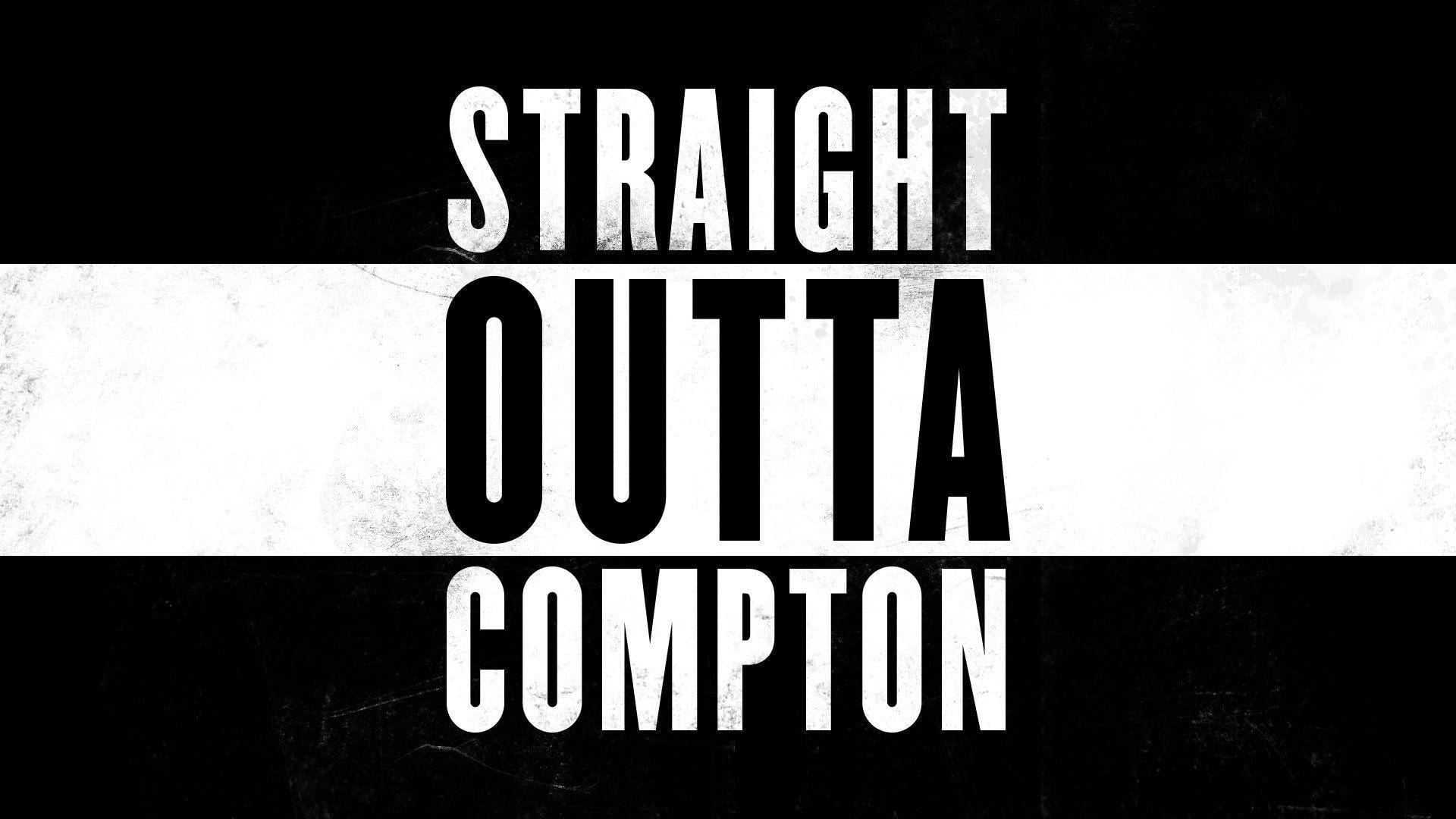 Knockout Font Straight Outta Compton Font