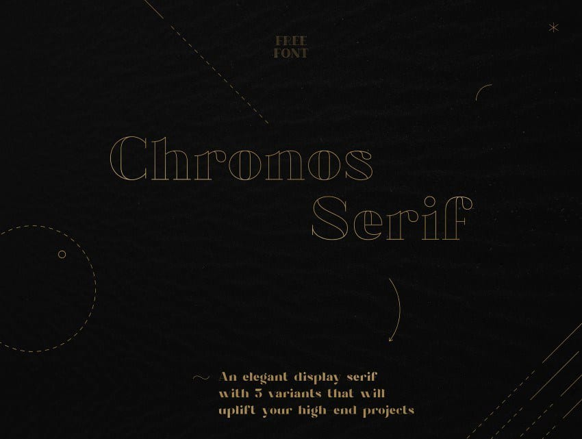 Chronos Serif Font Family