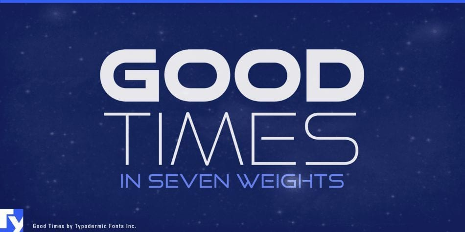 Good Times Font Family Free Type