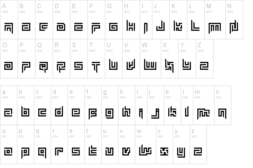 Mayon Exquisite Font
