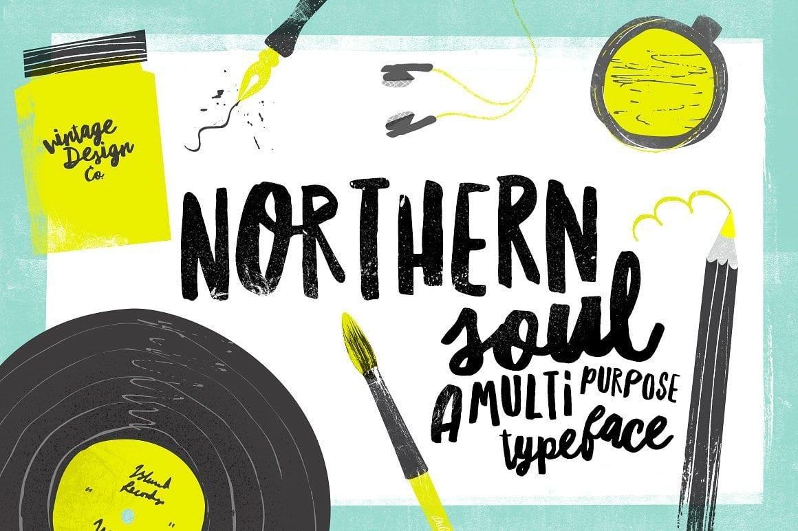 Northern Soul – Typeface Font