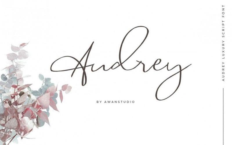Audrey Handwritten Font