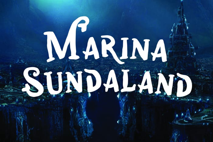 Marina Sundaland Display Font