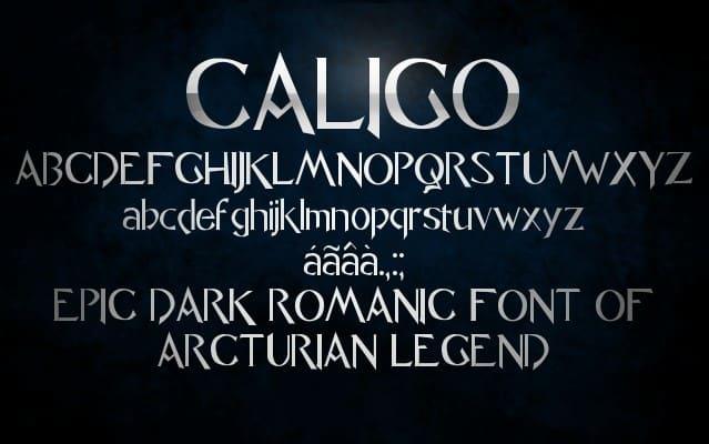 Caligo Font