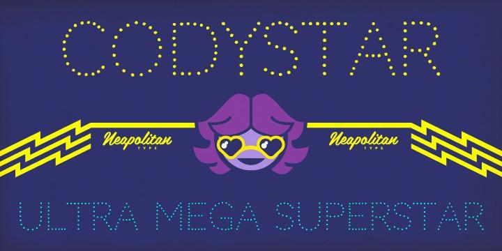 Codystar Font