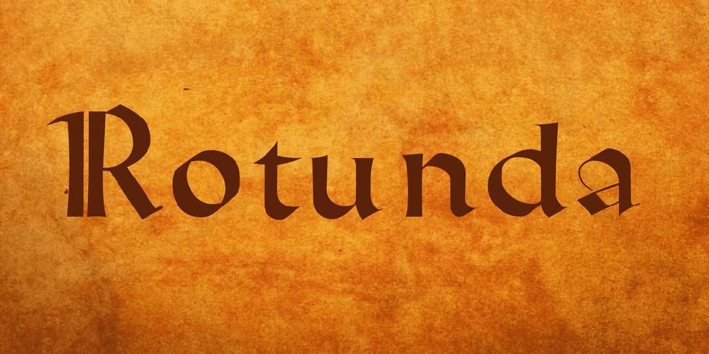 Rotunda Font