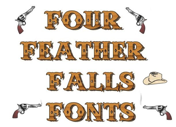 Anderson Four Feathers Falls Font