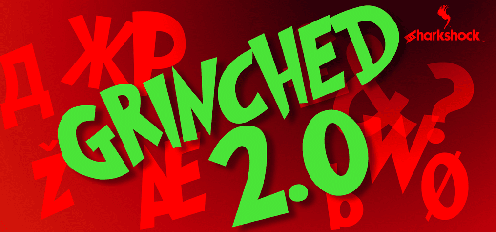 Grinched . Font