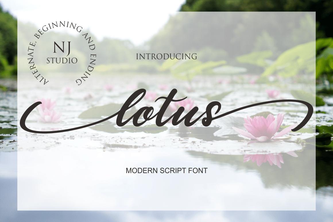 Lotus Font