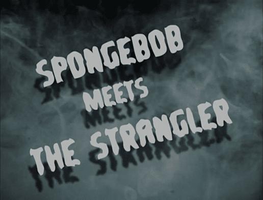 SpongeBob Meets the Strangler Font