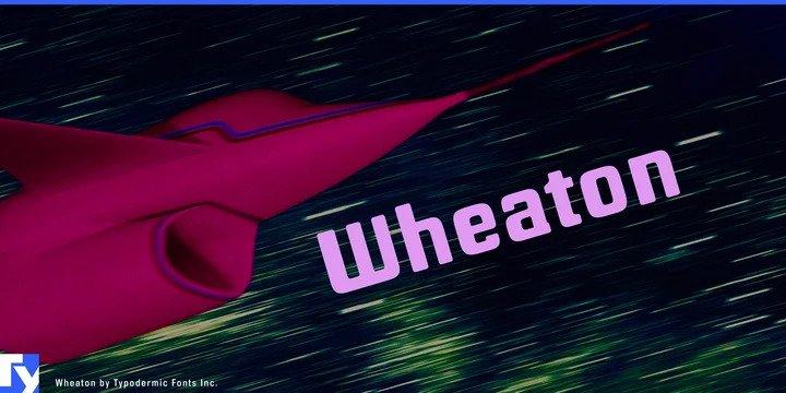 Wheaton Font