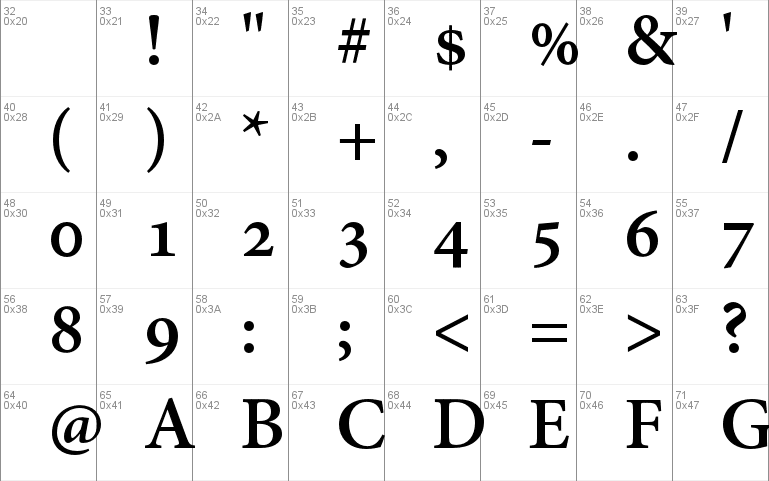Adobe Hebrew Font