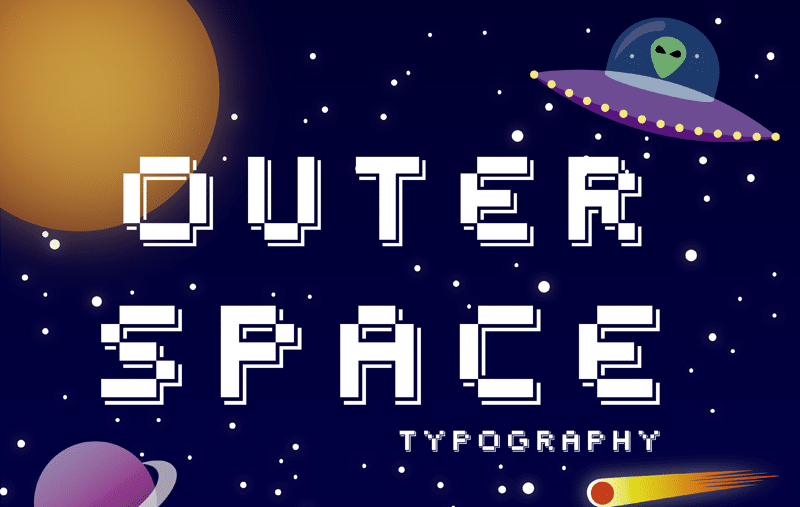 Outer Space Font