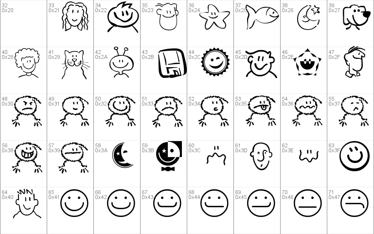 Smileyface Font