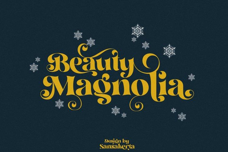 Beauty Magnolia Serif Font