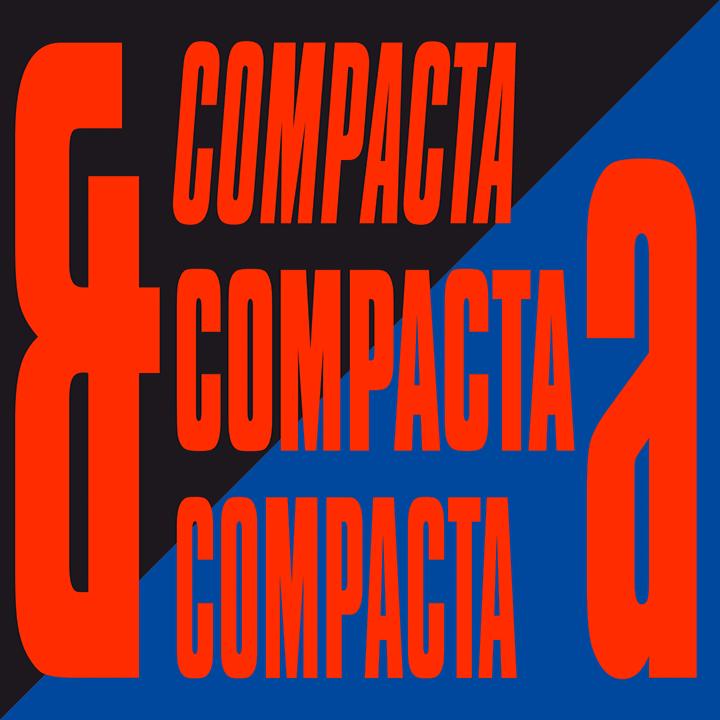 Compacta Blk BT Font