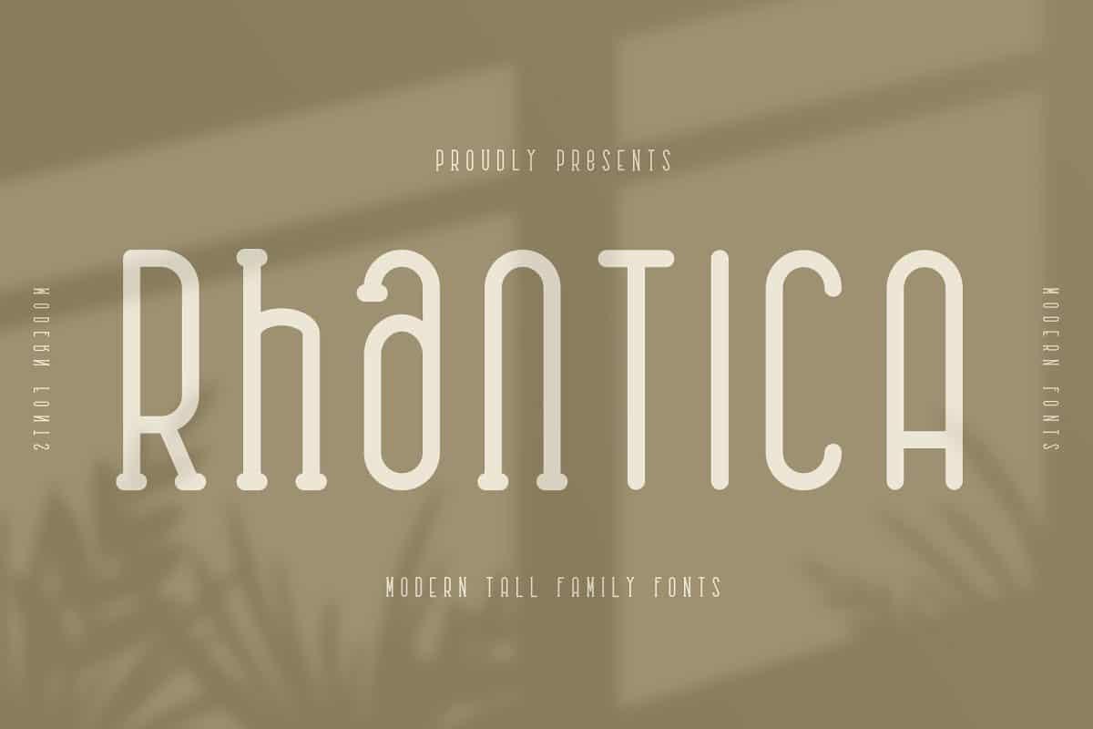 Rhantica Display Font