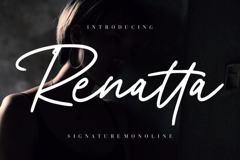 Renatta Handwritten Font