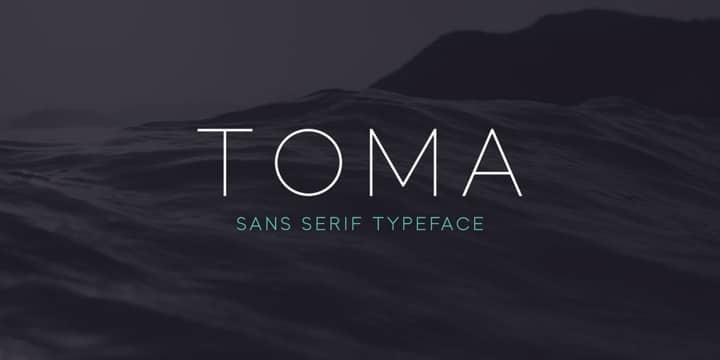 Toma Sans Font Family