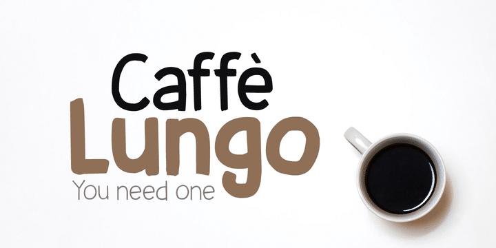 Caffe Lungo Font