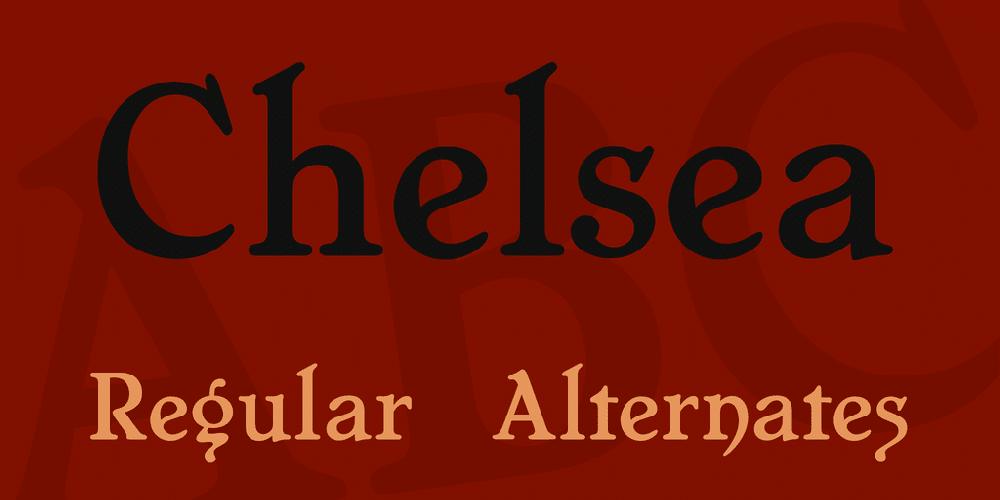 Chelsea Font Family