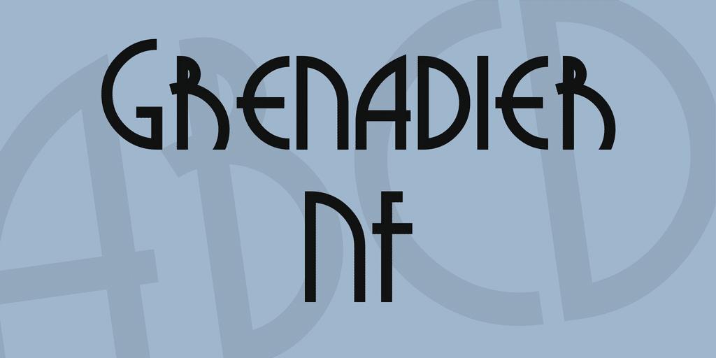 Grenadier NF Font