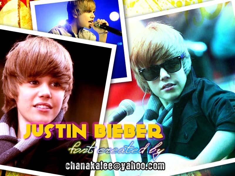 Justin Bieber Font