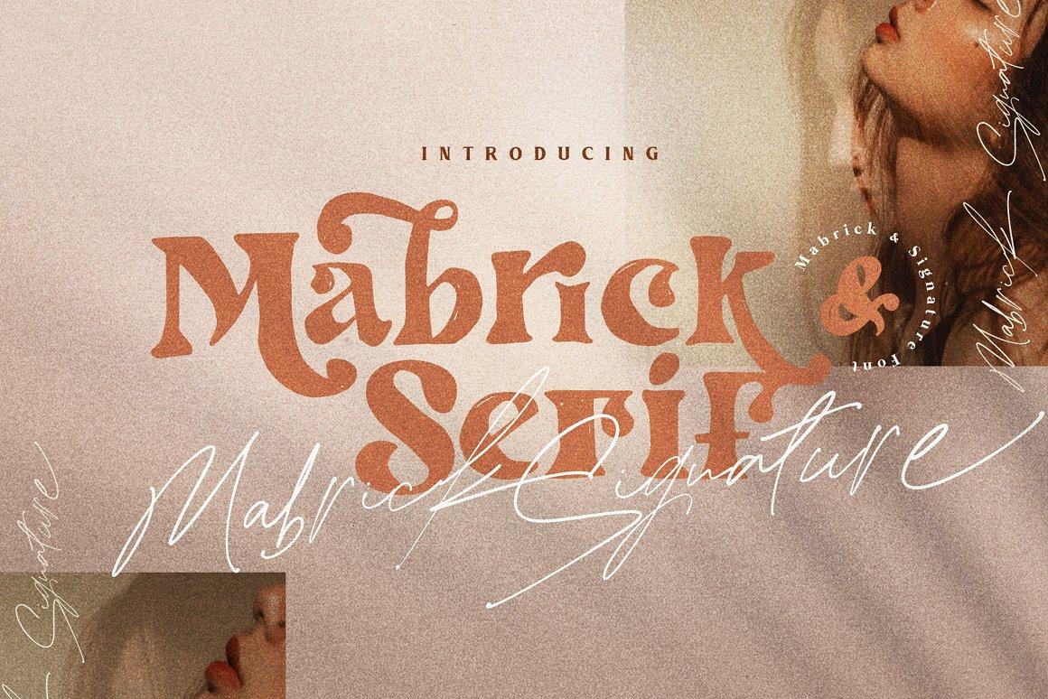 Mabrick Signature Font