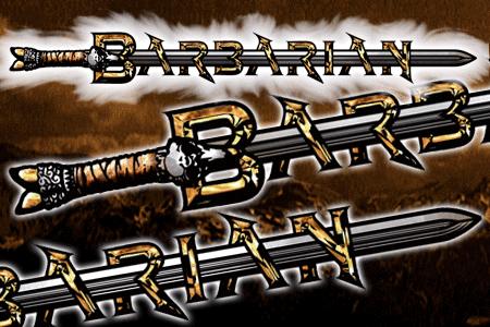 Barbarian Font