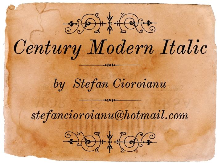 Century Modern Font