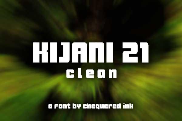 Kijani Clean Font