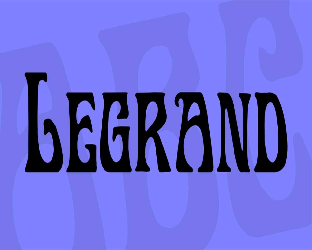 Legrand Font