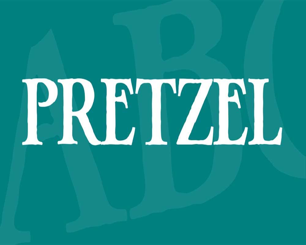 Pretzel Font