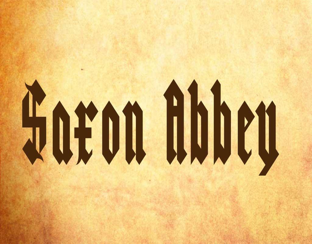 Saxon Abbey Font