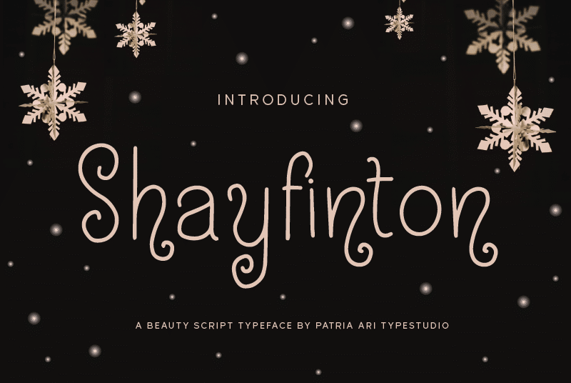 Shayfinton Font