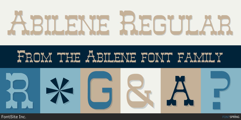 Abilene Font