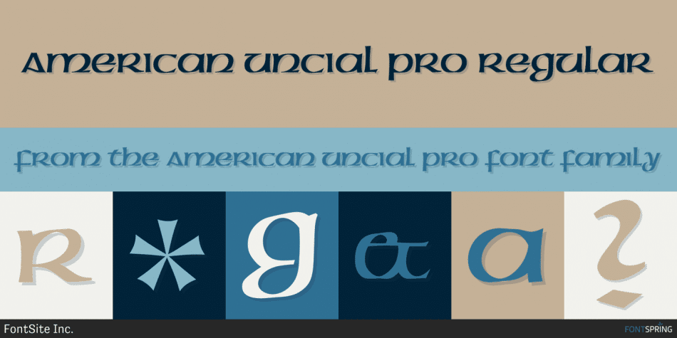 American Uncial Pro Font
