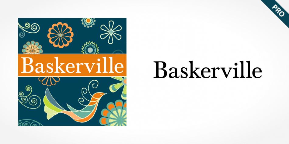 Baskerville Pro Font