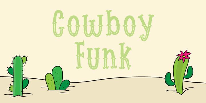 Cowboy Funk Font
