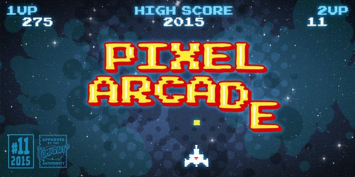 Pixel Arcade Font