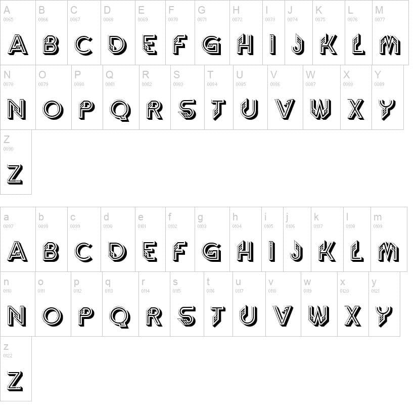 Striptease Font
