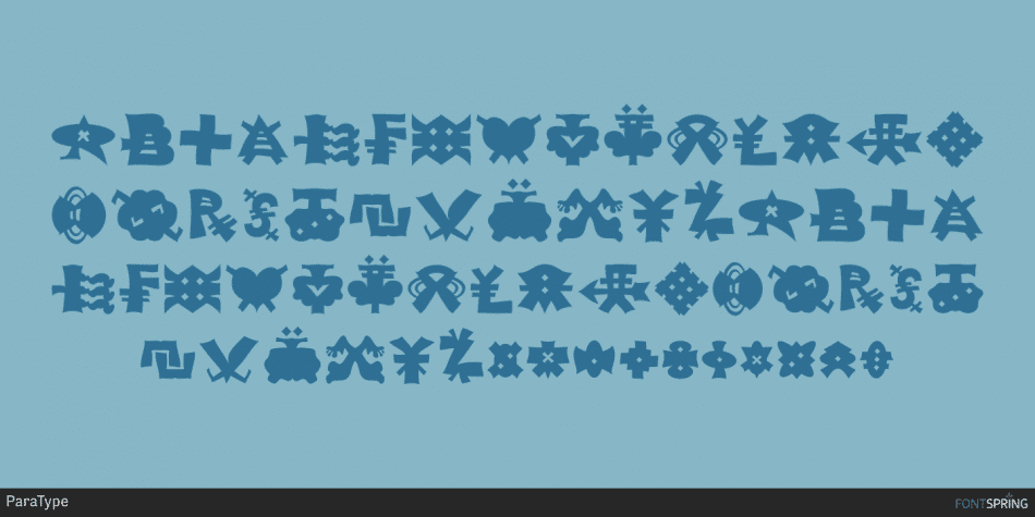 Alien Alphabet Font